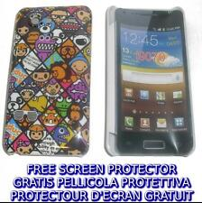 Pellicola+custodia BACK COVER FUMETTO rigida per Samsung I9070 Galaxy s Advance