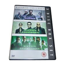 MATRIX/MATRIX RELOADED/MATRIX REVOLUTIONS NEW DVD