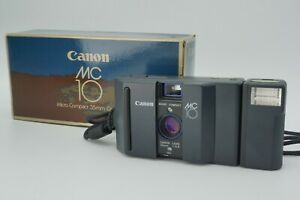 【Almost UNUSED】 Canon MC10 35mm Point & Shoot Film Camera from Japan #672