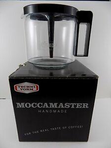 TECHNIVORM MOCCAMASTER GLASS JUG 1.25L w/ Mixing Lid for GCS KBG40 /741 /744