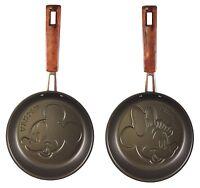 Disney Mickey and Minnie mouse Pancake Pan set Kawaii made in Japan new