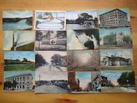 Lot of 16 antique collectible post cards :: Going back over 100 years!