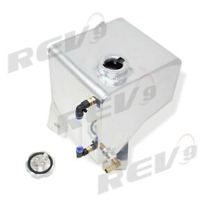 REV9 ALUMINUM COOLANT EXPANSION OVERFLOW TANK FOR 82-92 CHEVY CAMARO 3RD GEN