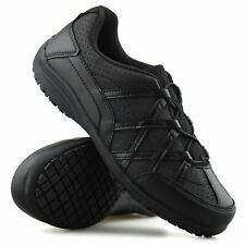 Ladies Womens Casual Slip On Walking Work Non Slip Sports Trainers Shoes Size