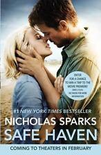 Safe Haven by Nicholas Sparks (2012, Paperback, Movie Tie-In)
