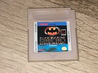 Batman The Video Game Nintendo Game Boy Cleaned & Tested Authentic