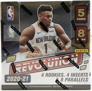 NBA - 2020/21 Revolution Basketball Trading Cards ~ Panini Sealed Hobby Box #NEW
