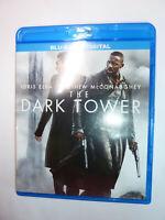 The Dark Tower Blu-ray movie based on Stephen King book Idris Elba 2017!
