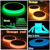 New Luminous Tape Self-adhesive Glow In Dark Safety Film Sticker Stage Decor .RD