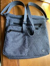 lug crossbody bag Gray Travel Purse Handbag Adjustable Monorail