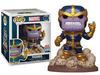 "Funko POP! Marvel ~ THANOS ""THE SNAP"" VINYL FIGURE ~ Comic Version PX Exclusive"