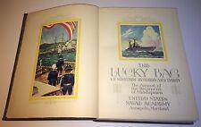 Antique US Naval Academy Yearbook! Lucky Bag! C.1930! Football, Baseball Photos!