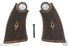 Smith & Wesson 1917 Checkered Walnut Square Butt Grips