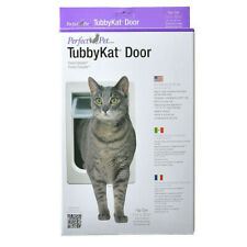 "Perfect Pet Tubbykat Cat Door For Cats Up To 25lbs - 7.5""x10.5"" - New Open Box"