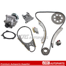 Timing Chain Kit + Water Pump Set For 02-07 GM Chevy GMC Isuzu 2.8L 3.5L 4.2L