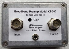 Kitztech Broadband Low Noise Preamp - Scanners - Ham Radio - Aircraft Radio