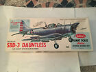 Guillow's Douglas SBD-3 Dauntless Balsa Wood Flying Model WWII Airplane GUI-1003