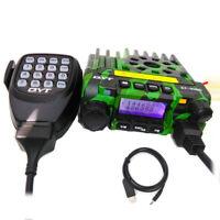QYT KT8900 Car Transceiver 25W Mobile Radio VHF UHF Dual Band Radio 200CH