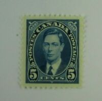 1937 Canada SC #235 KING GEORGE VI  MH  F-VF stamp