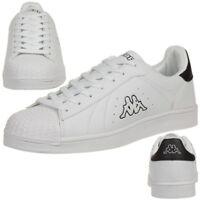Kappa Olymp Sneaker Schuhe Damen Herren Sportschuhe white black