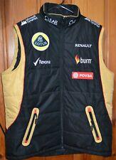 New listing Lotus Renault Formula 1 Race Vest Puffer XL Jacket