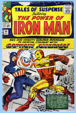 TALES OF SUSPENSE #58 GD/VG 1964 Iron Man Captain America MARVEL *ShipFree w/$35