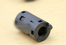 10x TDK black 11mm Clip On EMI RFI Filter Snap Around Ferrite ZCAT2132-1130