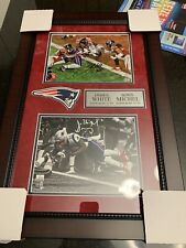 James White Sony Michel Auto Signed New England Patriots Framed Photo Fanatics