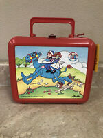 Vintage 1988 Aladdin Raggedy Ann and Andy Plastic Lunch Box