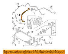 NISSAN OEM 04-06 Maxima-A/C AC Hose 92480ZK30A