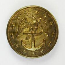 Rare Scarce Two-Piece Navy Coat Button Na103, Na209A1