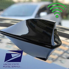 Black Car Shark Fin Universal Roof Antenna Radio FM/AM Decorate Aerial