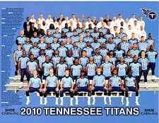 2010 TENNESSEE TITANS TEAM  8X10 PHOTO FOOTBALL NFL USA