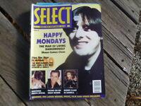 1991 JANUARY  SELECT MUSIC MAGAZINE 146 PAGES BRITISH