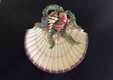 Fitz & Floyd Oceana Shell Seashells Serving Tray Canape Plate # 68/31 Mint