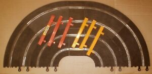 SCALEXTRIC VINTAGE CLASSIC 4 LANE CURVES SECTION  1/32