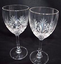 A Pair of Edinburgh Crystal Wine Sherry Port Glasses Vintage