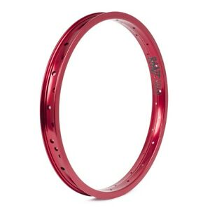 """RANT SQUAD BMX BIKE 20"""" RIM DOUBLE WALL FIT CULT HARO SHADOW SUBROSA KINK RED"""