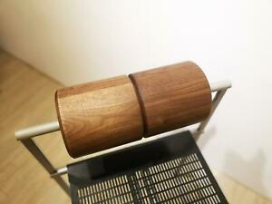 Walnut Wood Cylinder back rest for MARIO BOTTA Alias Prima 601 Seconda 602
