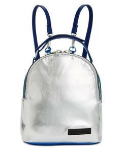 Steve Madden Women's Metallic Crossbody Mini Lunch Backpack MSRP $58