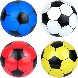 """8.5"""" Inflatable Football Kids Sports Beach Ball Pool Toys Game Party Bag Fillers"""