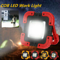 10W USB Solar LED COB Work Light Rechargeable Camping Emergency Flood Lamp NEW
