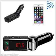 Bluetooth Car FM Transmitters MP3 Music Player Charger Handsfree With Dual USB