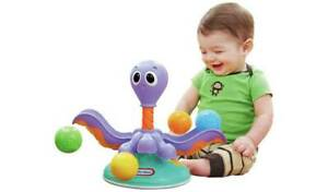 Little Tikes Lil' Ocean Explorers Ball Chase Octopus Adorable Sea-Creature NEW