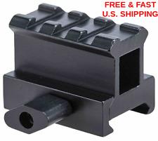 HIGH PROFILE Riser Rail 3 Slot See Through Tact!cal Scopes Optics UTG HARD COAT