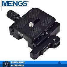 MENGS CL-50L 3/8'' Screw Camera Quick Release Clamp + Quick Release Plate