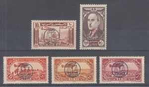 Syria Sc C109-C113 MNH. 1944 First Arab Lawyers Conference, complete set, fresh