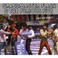 GRANDMASTER FLASH & THE FURIOUS FIVE - THE MESSAGE  CD NEW!
