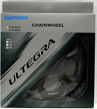 Shimano Ultegra FC-6750 Chainring 50T, 110mm BCD, Double, Glossy Grey