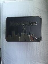 RARE MERCEDES BENZ G/GL/ML/GLS OEM PLASTIC HITCH COVER CLASS 3 NEW!